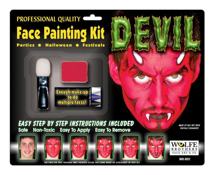 Devil Makeup Kit Wolfe Bros