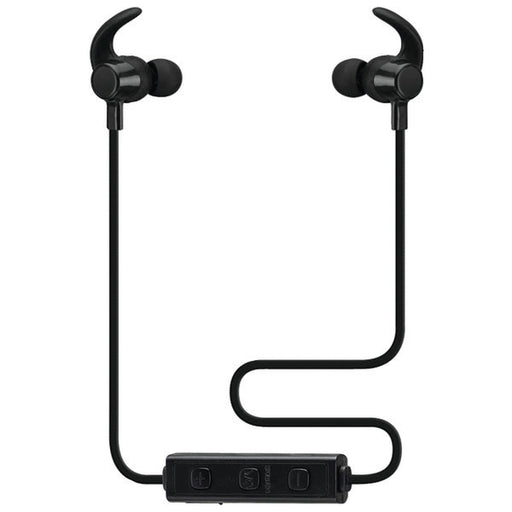 iLive Platinum Bluetooth Neckband Earbuds, Include 3 Sets of Ear Tips and Micro-USB to USB Cable, Black (IAEP48B)