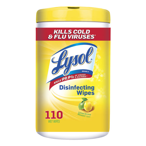 Lysol Disinfecting Wipes - Lemon & Lime Blossom 110 ct