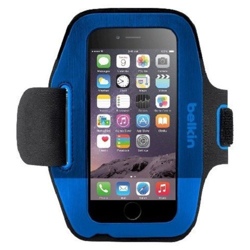 Belkin Sport-FIt Armband for iPhone 6 and iPhone 6s (Blue)