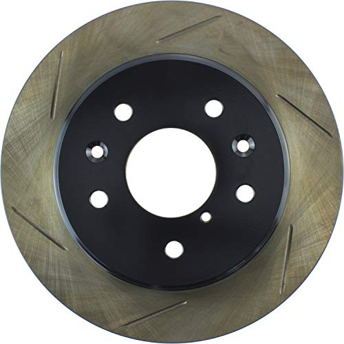 Power Slot StopTech 126.45024SR Sport Slotted Brake Rotor; Rear Right