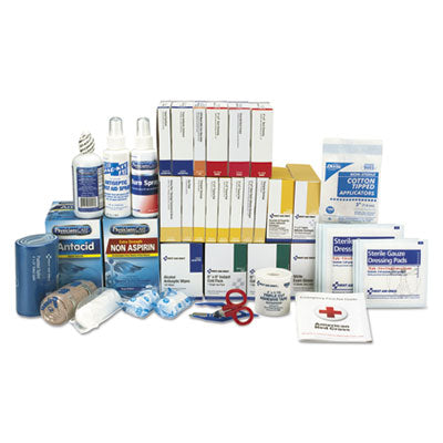 First Aid Only 90623 ANSI 2015 Compliant 3 Shelf Class B+ First Aid Kit Refill with Meds
