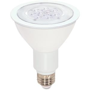 Satco S9088 11 Watt (75 Watt) 750 Lumens PAR30 Long Neck LED Warm White 3000K 25 Beam Ditto Light Bulb, Dimmable