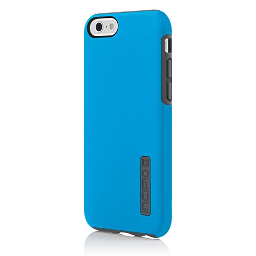 iPhone 6S Case, Incipio DualPro Case [Shock Absorbing] Cover fits Both Apple iPhone 6, iPhone 6S - Cyan/Gray