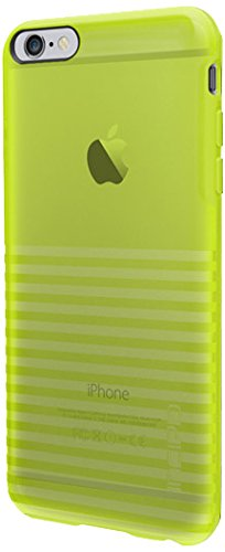 iPhone 6S Plus Case, Incipio Rival Case [Textured] Bumper Cover fits iPhone 6 Plus, iPhone 6S Plus -Translucent Electric Lime
