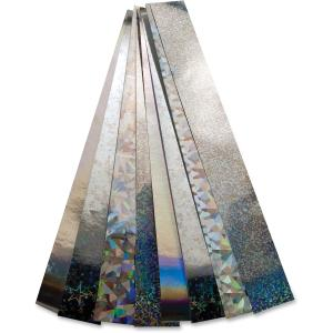 Non-gummed Holographic Chain Strips
