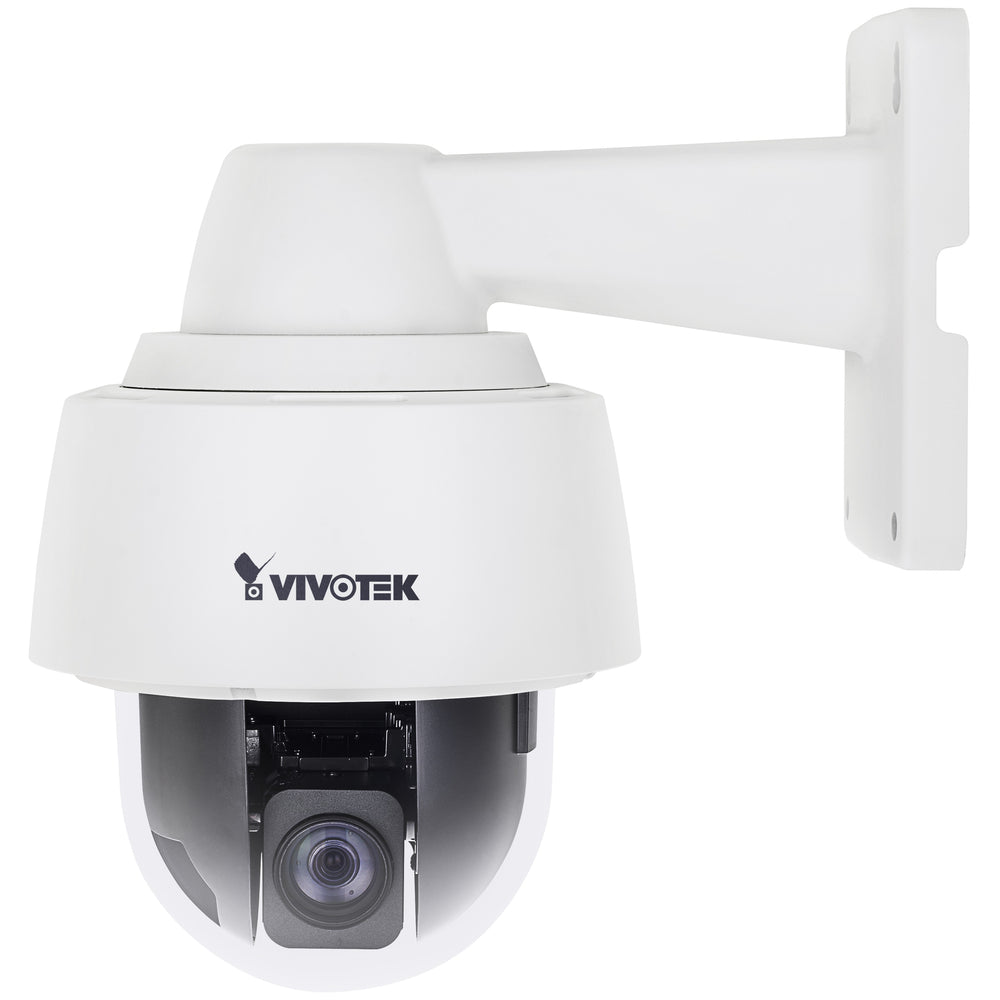 Vivotek SD9361-EHL 2 Megapixel Network Camera - Color, Monochrome - Motion JPEG, H.264, H.265 - 1920 x 1080 - 4.70 mm - 94 mm - 20x Optical - CMOS - Cable - Wall Mount, Pendant Mount, Pole Mount, Corner Mount, Parapet Mount, Dome