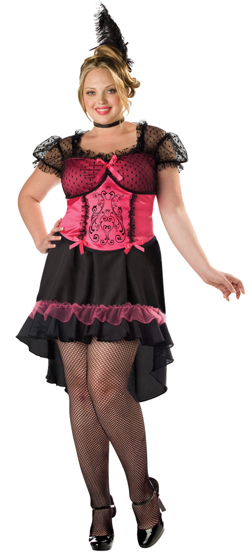 Saloon Girl Costume - Plus Size 3X - Dress Size 22-24