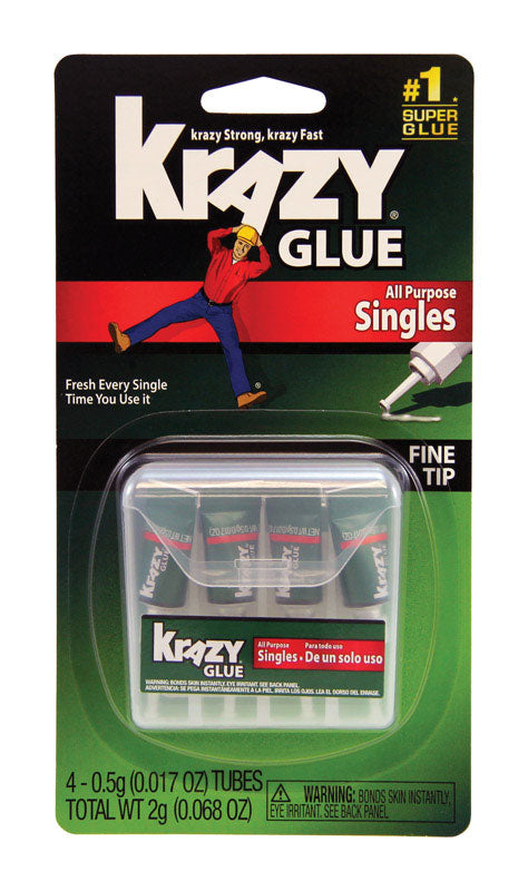 Krazy Glue Single Use Tube