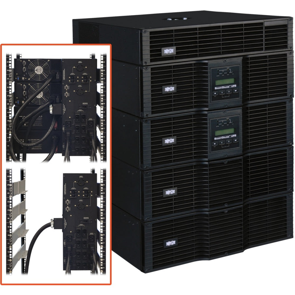 "Tripp Lite Smartonline Ez Su20krt-1Tf 20Kva Tower/Rack Mountable Ups - 0.07 Hour Full Load - 20 Kva - Snmp Manageable ""Product Category: Ups/Industrial Ups"""