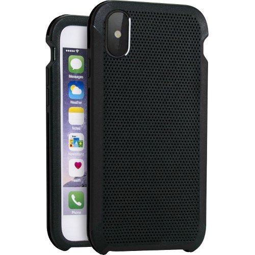 Impact Gel Apple iPhone X Traveler Case Black & Grey