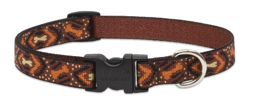 "LupinePet Originals 3/4"" Down Under 9-14"" Adjustable Collar for Small Dogs"