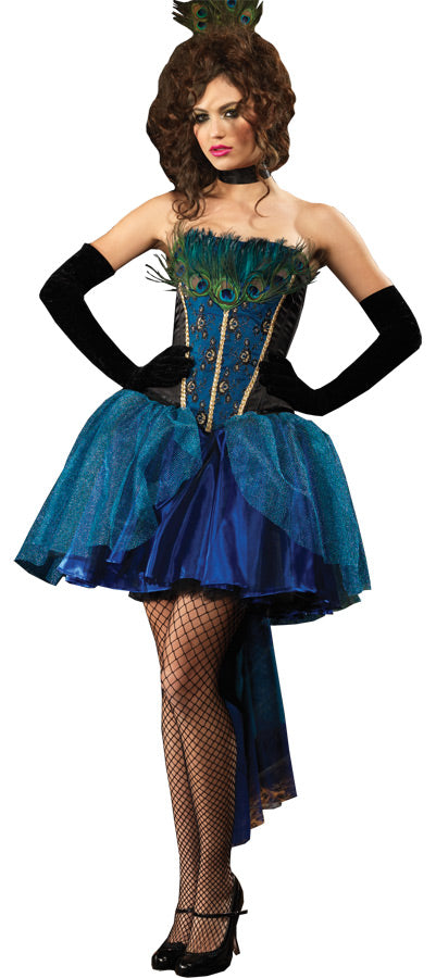 Deluxe Peacock Princess Adult Costume - Small