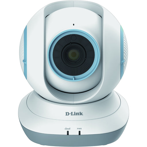 D-Link Pan & Tilt HD Wi-Fi Baby Camera - Temperature Sensor, Personalize Audio, 2-Way Talk, Local and Remote Video Baby Monitor app for iPhone and Android (DCS-855L)