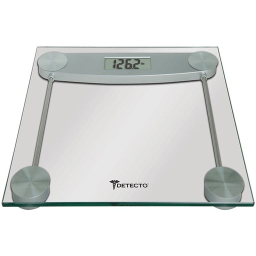 Detecto D1180400US LVAD1180400US Glass LCD Digital Scale, Multicolor