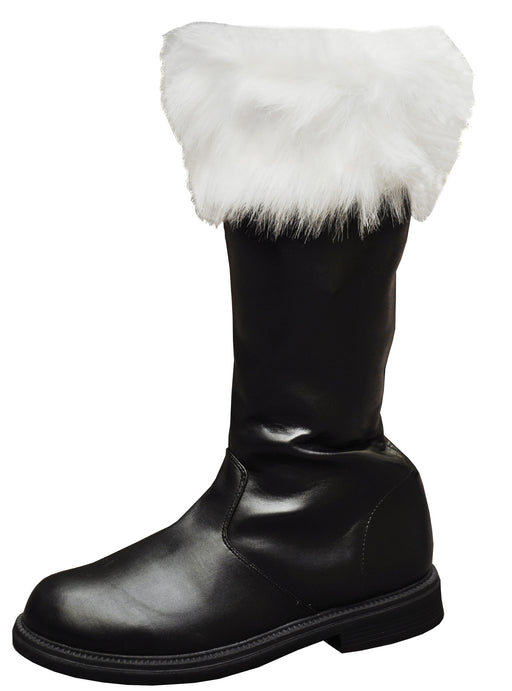 Funtasma by Pleaser Men's Halloween Santa-100,Black,S (US Men's 8-9 M)