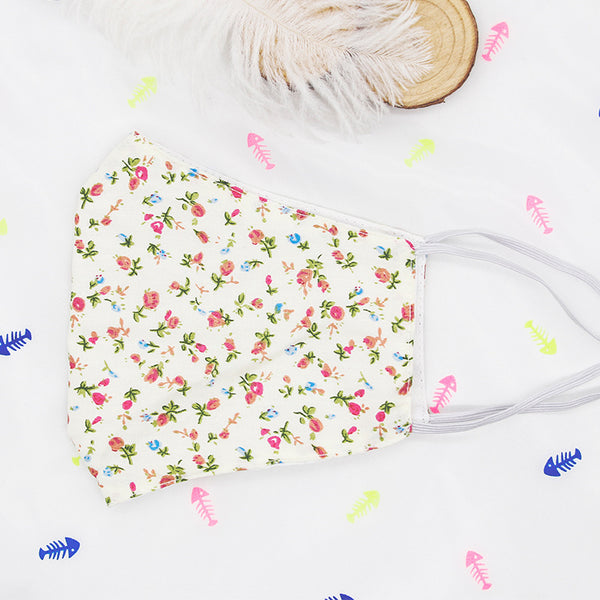 FM129 breathable comfortable adjustable reusable flowers face mask
