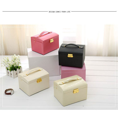 CK93001 three layer jewellery box
