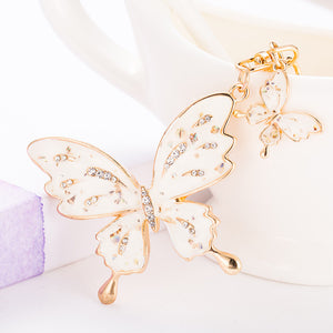 CK92005 BUTTERFLY KEYRING