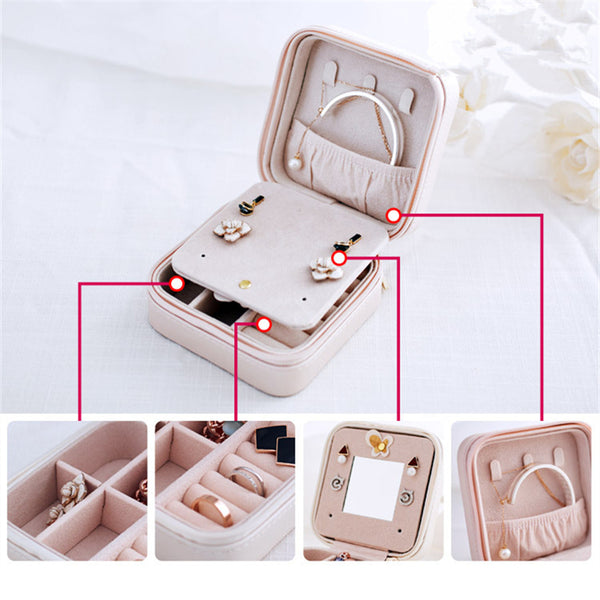 CK93003 compact jewellery box ideal for travelling