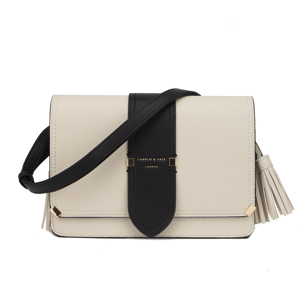 TIFFANY HAYES CREAM/BLACK - Charlie & Kate