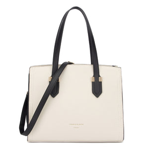 TIFFANY RICHMOND CREAM/BLACK - Charlie & Kate