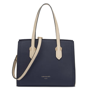 TIFFANY RICHMOND NAVY/BEIGE - Charlie & Kate