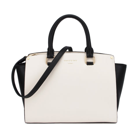 CELINE CREAM/BLACK - Charlie & Kate