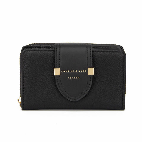 TIFFANY PURSE BLACK - Charlie & Kate