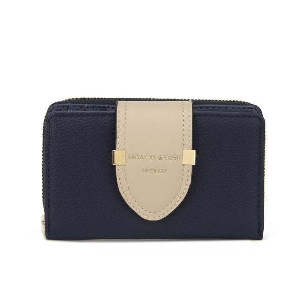 TIFFANY PURSE NAVY/BEIGE - Charlie & Kate