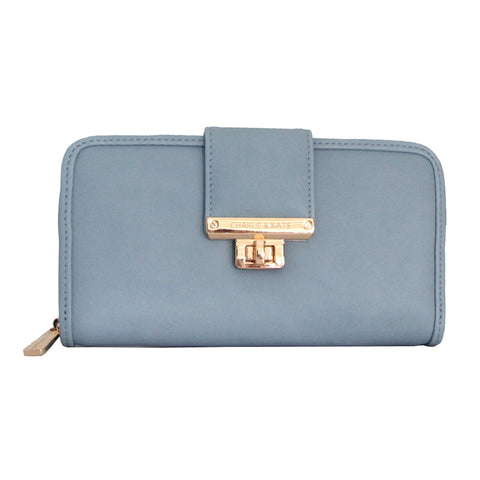 NAOMI PURSE BLUE - Charlie & Kate