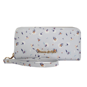 MORGAN PURSE BLOSSOM LIGHT BLUE - Charlie & Kate