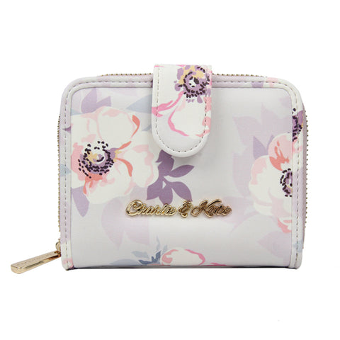 MAISIE PURSE SOFT FLOWER GREY - Charlie & Kate