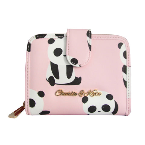 MAISIE PURSE PANDA IN PINK - Charlie & Kate