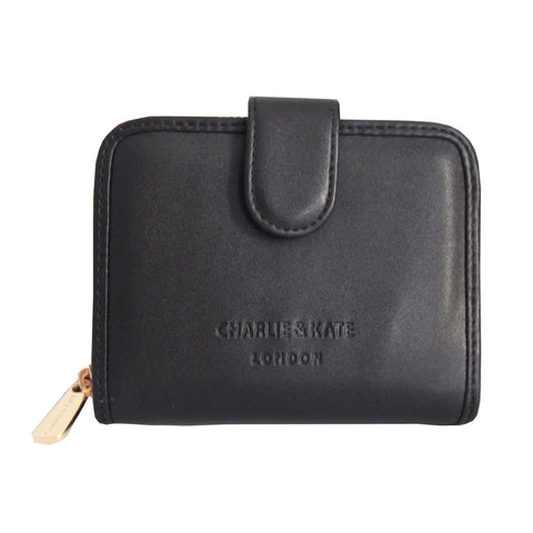 MAISIE PURSE BLACK - Charlie & Kate
