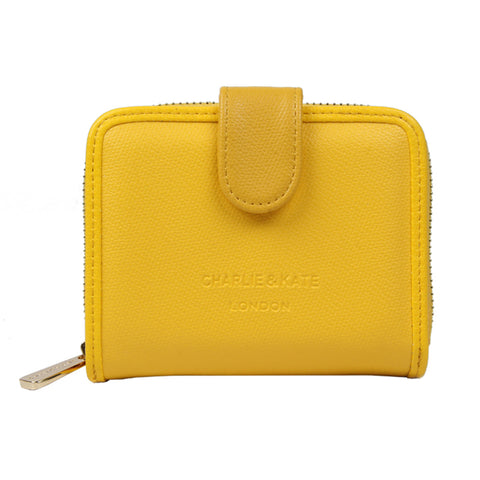 MAISIE PURSE YELLOW - Charlie & Kate