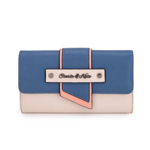 CHLOE PURSE BLUE - Charlie & Kate