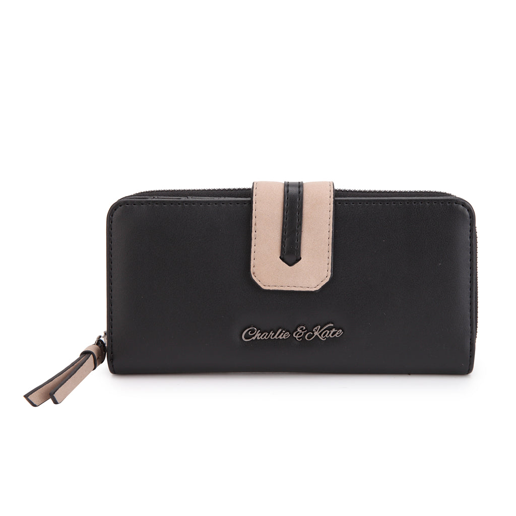 KATHERINE PURSE BLACK - Charlie & Kate