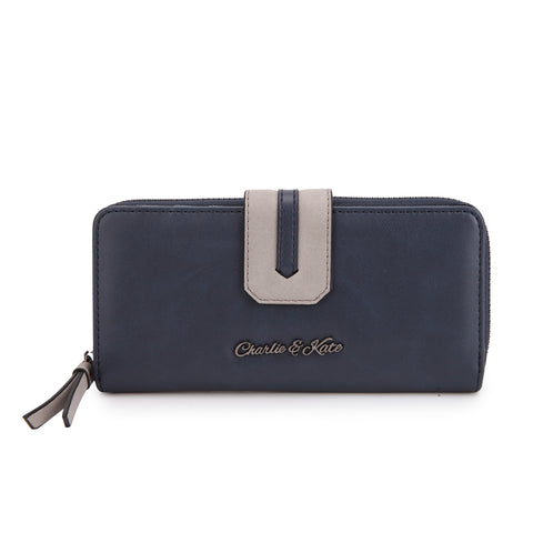 KATHERINE PURSE NAVY - Charlie & Kate