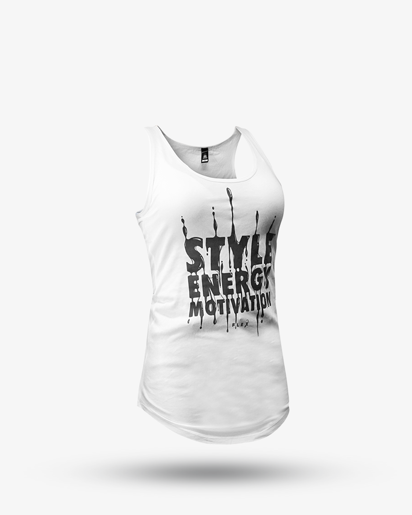 Womens Dripping Style Singlet