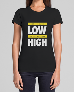 """High-Low"" Tee Womens"