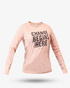Womens Wireframe Change Longsleeve