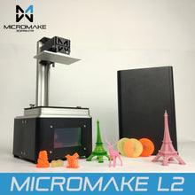 Micromake L2 UV Resin 3D Printer SLA 3D Printer with FREE SHIPPING