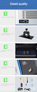 CREALITY 3D LD001 LCD 3D Printer UV Fully Assembled with 3.5'' Smart Touch Screen