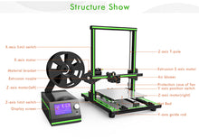 Anet E10 3D Printer Kit 220*270*300mm Aluminum Frame DIY
