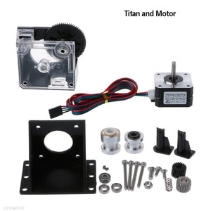 3D Printer Parts Titan Extruder Full Kit for 1.75mm + Nema 17 Stepper Motor + V6 Bowden Extruder