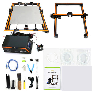Anet E12 3D Printer Kit DIY 300*300*400mm Large Print Size w/10m Filament