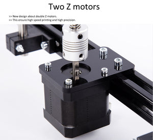 FLSun 3D Printer Dual Extruder Large Printing Size 260*260*350mm