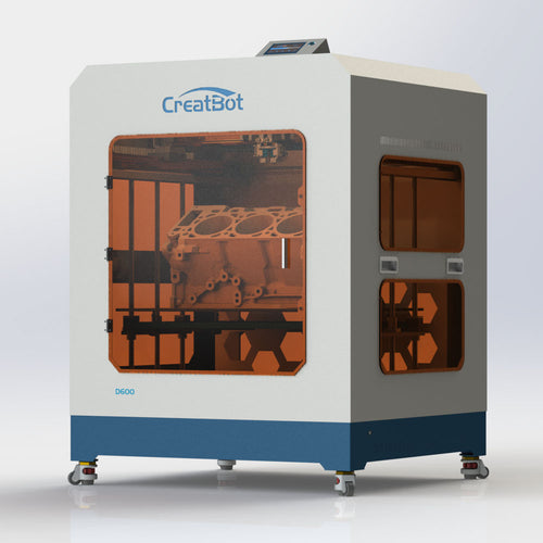 Creatbot D600 3D Printer 600*600*600mm Large Size Industrial 3D Printer