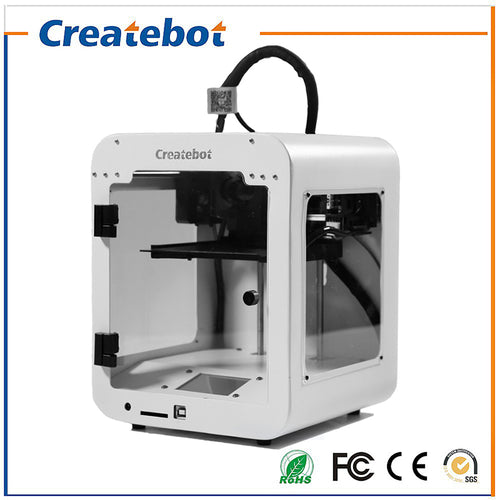 Createbot Super Mini 3D Printer Fully Assembled Metal Frame w/1 Roll PLA